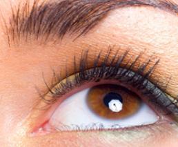 False eye removal and exchange